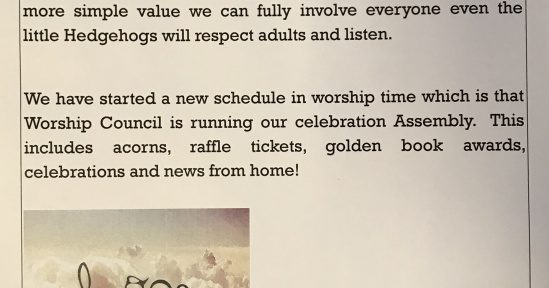 Value Information from the Worship Council