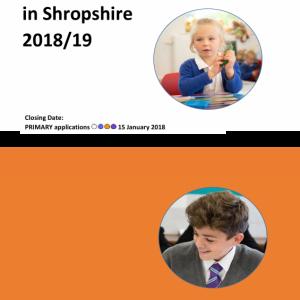 School Admissions 2018-2019